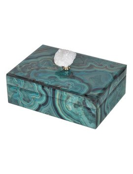 7'' Bethany Marbled Jewelry Box by Zulily