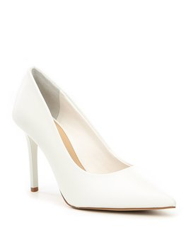 Jilley Sheep Leather Pointed Toe Pumps by Gianni Bini
