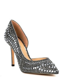 Mairah Jeweled D'orsay Pumps by Gianni Bini