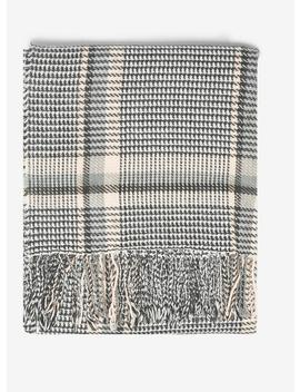 Multi Colour Prince Of Wales Checked Scarf by Dorothy Perkins