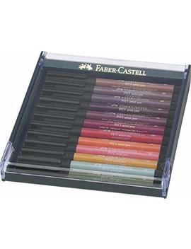Faber Castell Autumn Colours Pitt Brush Pen (Pack Of 12) by Faber Castell