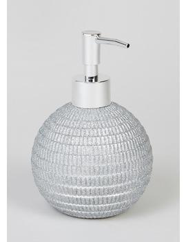 Glitter Soap Dispenser (33cm X 17cm) by Matalan