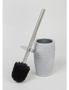Glitter Toilet Brush (38cm X 35cm) by Matalan