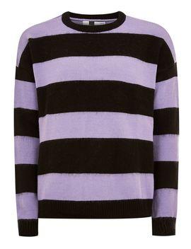 Block Stripe Sweater by Topman