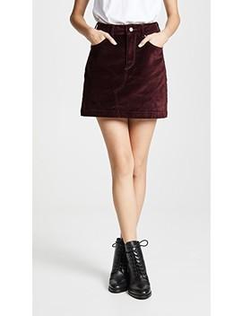 Georgia Velvet Skirt by Dl1961