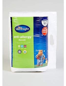 Silentnight Anti Allergy Duvet (13.5 Tog) by Matalan