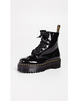 Molly 6 Eye Boots by Dr. Martens