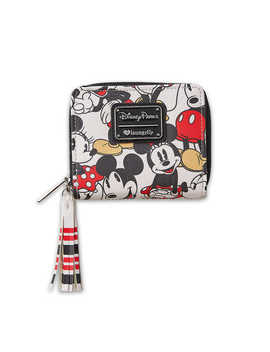 Mickey And Minnie Mouse Wallet By Loungefly by Disney