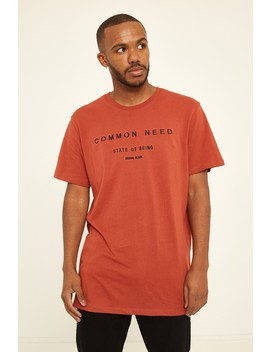 Common Need Oxidation Ss Tee Rust by Universal Store