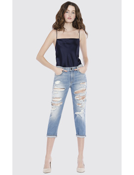 Amazing Mid Rise Boyfriend Jean by Alice And Olivia
