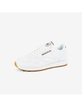Classic Leather White/Gum by Reebok