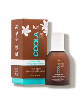 Organic Sunless Tan Anti Aging Face Serum (1.7 Fl Oz.) by Coola