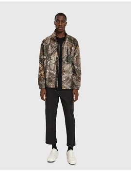 Realtree Micro Ripstop Jacket In Realtree Camo by Stüssy