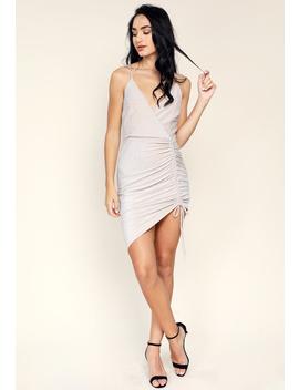 Metallic Cami Mini Dress by Papaya