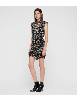 Hali Tiger Dress by Allsaints