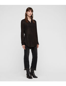 Keri Stripe Shirt by Allsaints