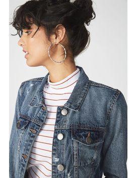 Girlfriend Fashion Denim Jacket by Cotton On