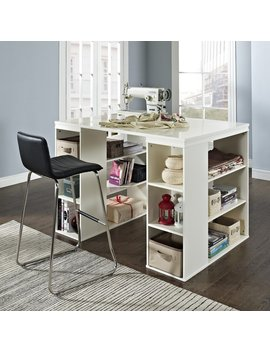 Belham Living Sullivan Counter Height Desk   Vanilla by Belham Living