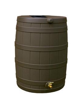 50 Gal. Oak Rain Barrel by Rain Wizard