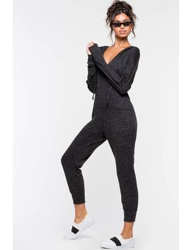 Loungin Hoodie Jumpsuit by A'gaci