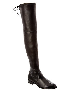 Stuart Weitzman Leather Over The Knee Boot by Stuart Weitzman