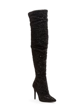 Luxella Hotfix Embellishment Over The Knee Boots by Jessica Simpson