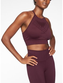 Halasana Macrame Bra by Athleta