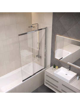 Jono Archer 40 In. Pivot And Slide Bath Screen by Costco