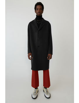 Oversized Coat Black by Acne Studios