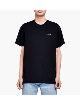 Hebrew Logo Tee by Ovadia & Sons