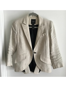 Smythe Metallic Linen Jacket by Smythe