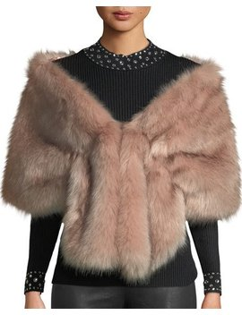Faux Fur Shawl by Love Token