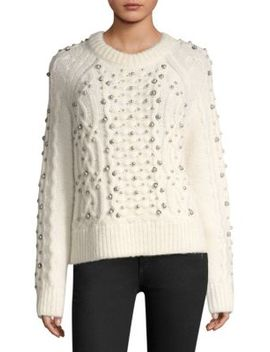Jemima Embellished Sweater by Rag & Bone