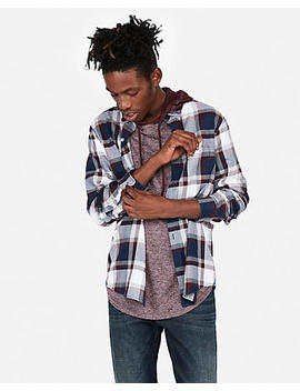Classic Plaid Soft Wash Shirt by Express