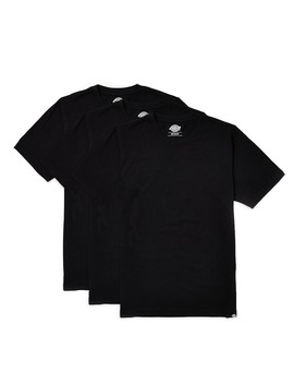 Staple T Shirt 3 Pack Black by Dickies
