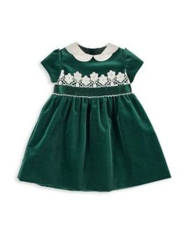Baby Girl's & Little Girl's Velvet Dress by Florence Eiseman