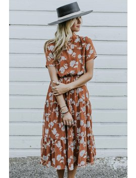 Rhea Print Dress by Roolee