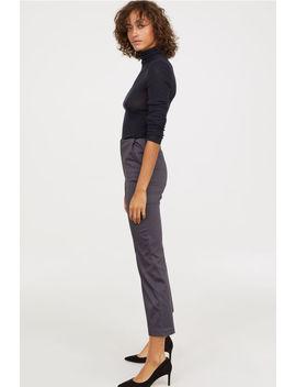 Slim High Waist Pants by H&M