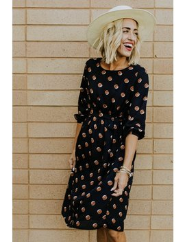 Moscow Print Dress by Roolee