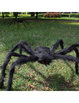 5 Ft/150cm Hairy Giant Spider Decoration Halloween Prop Haunted House Decor Party by Ebay Seller