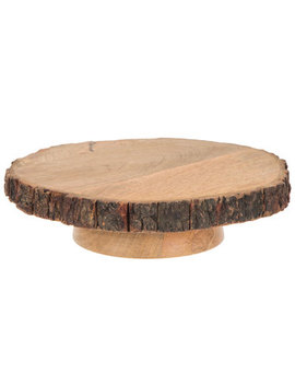 Wood Cake Stand by Hobby Lobby