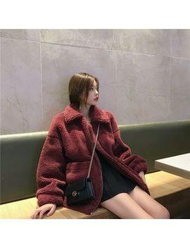 Be Bonita   Fleece Lined Faux Fur Zip Jacket by Be Bonita