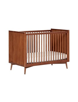 West Elm X Pbk Mid Century Crib, Acorn, Ups by Pottery Barn Kids