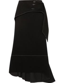 Yale Crepe Midi Skirt by Ellery