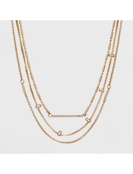 Sugarfix By Bauble Bar Gold Layered Necklace   Gold by Sugarfix By Bauble Bar