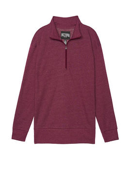 Victoria Sport  New! Essential Quarter Zip Pullover by Victoria's Secret