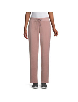 St. John's Bay Active Relaxed Fit Velour Pull On Pants by Sjb Active