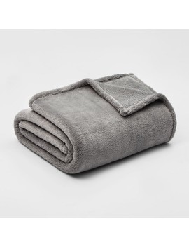 Fuzzy Solid Blanket   Threshold™ by Shop This Collection