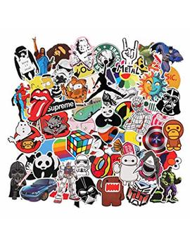 Sticker Pack [150 Pcs] Graffiti Sticker Decals Vinyls For Laptop,Kids,Cars,Motorcycle,Bicycle,Skateboard Luggage,Bumper Stickers Hippie Decals Bomb Waterproof by Amazon