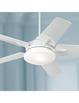 "52"" Casa Endeavor® White Ceiling Fan by Lamps Plus"